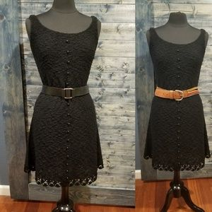 Vintage Knitted Tank Dress crochet